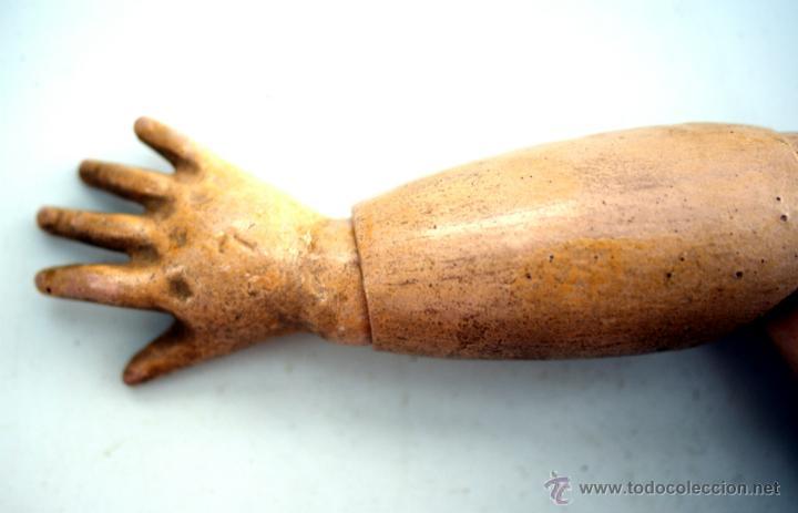 Muñecas Porcelana: CUERPO DE MUÑECA DEP JUMEAU COMPLETO CON VESTIDOS ORIGINALES - Foto 5 - 42615812