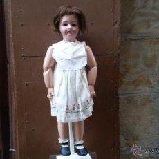 Muñecas Porcelana: EXCELENTE MUÑECA LANTENIER FRANCESA MEDIDAS 83 CM . Lote 44341250