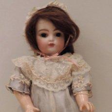 Muñecas Porcelana: BÉBÉ F 2 G ANTIGUA MUÑECA-CA. 1880--27 CM. PRECIOSA Y MUY APRECIADA EN EL MUNDO DEL COLECCIONISMO. Lote 45059005