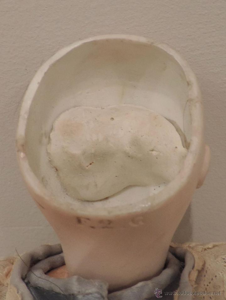 Muñecas Porcelana: BÉBÉ F 2 G Antigua muñeca-ca. 1880--27 cm. Preciosa y muy apreciada en el mundo del coleccionismo - Foto 3 - 45059005