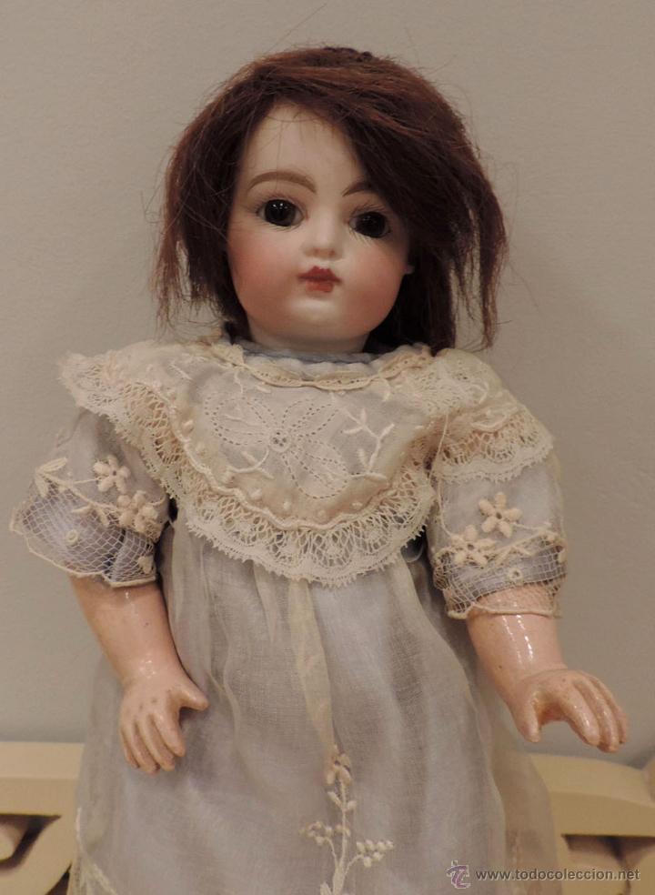 Muñecas Porcelana: BÉBÉ F 2 G Antigua muñeca-ca. 1880--27 cm. Preciosa y muy apreciada en el mundo del coleccionismo - Foto 4 - 45059005