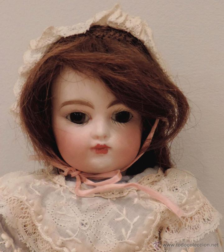 Muñecas Porcelana: BÉBÉ F 2 G Antigua muñeca-ca. 1880--27 cm. Preciosa y muy apreciada en el mundo del coleccionismo - Foto 8 - 45059005