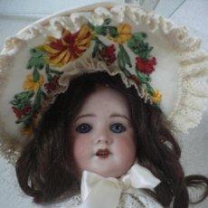 Muñecas Porcelana: PRECIOSA MUÑECA DE PORCELANA S.F.B.J. MODELO 60 PARIS. Lote 47118801