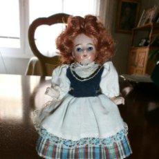 Muñecas Porcelana: MUÑECAS ANTIGUAS PORCELANA , FRANCESA.. Lote 49622189
