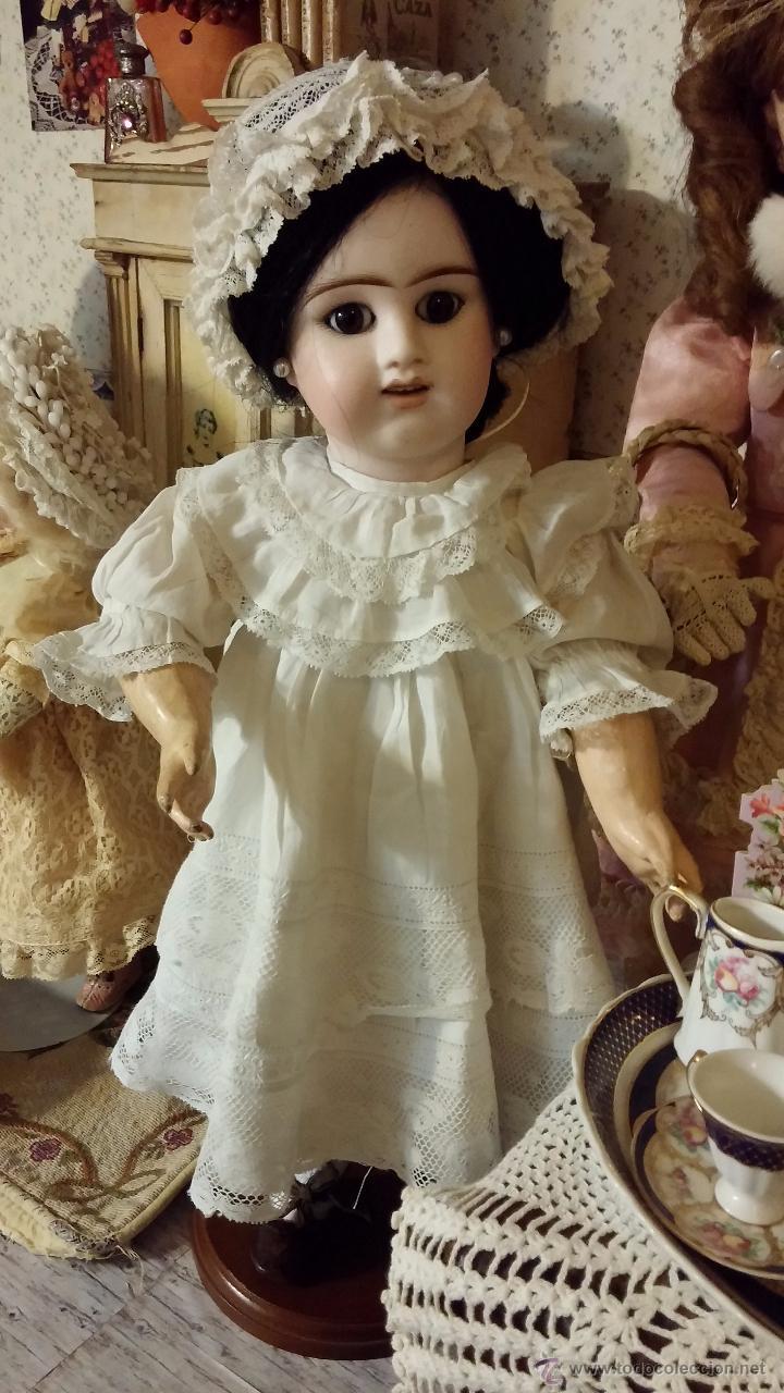 Muñecas Porcelana: Preciosa muñeca antigua francesa de porcelana DENAMUR - ¡PAGO A PLAZOS! - Foto 12 - 49736950