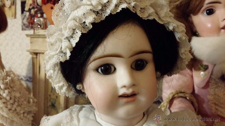 Muñecas Porcelana: Preciosa muñeca antigua francesa de porcelana DENAMUR - ¡PAGO A PLAZOS! - Foto 14 - 49736950