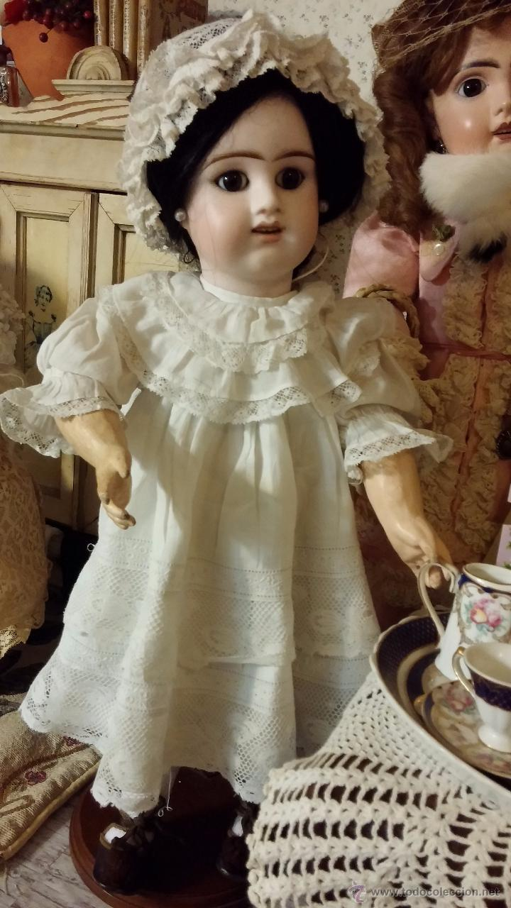 Muñecas Porcelana: Preciosa muñeca antigua francesa de porcelana DENAMUR - ¡PAGO A PLAZOS! - Foto 15 - 49736950