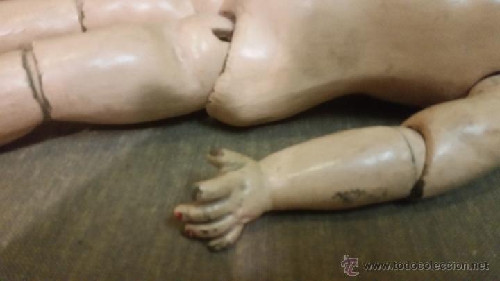 Muñecas Porcelana: ENORME CUERPO DE MUÑECA SE PORCELANA JUMEAU PARÍS FF.SG.XIX. - Foto 2 - 50454006