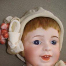 Muñecas Porcelana: PRECIOSA JUMEAU BEBÉ DE CARACTER SFBJ 236/ TALLA 8. Lote 52948250