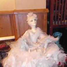Muñecas Porcelana: ANTIGUA MUÑECA BOUDOIR DOLL,POUPÉE. Lote 53324762