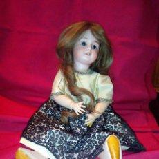 Muñecas Porcelana: PRECIOSA ANTIGUA MUÑECA DE PORCELANA MARCA DEP EN NUCA , AÑO 1900 O ANTERIOR.. Lote 54027622