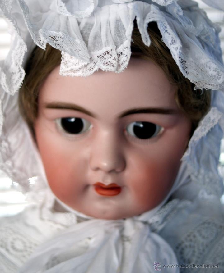 Muñecas Porcelana: GRAN MUÑECA DE PORCELANA - ANDADORA - DEP JUMEAU - Nº 14 - PP. S. XX - Foto 2 - 54490031