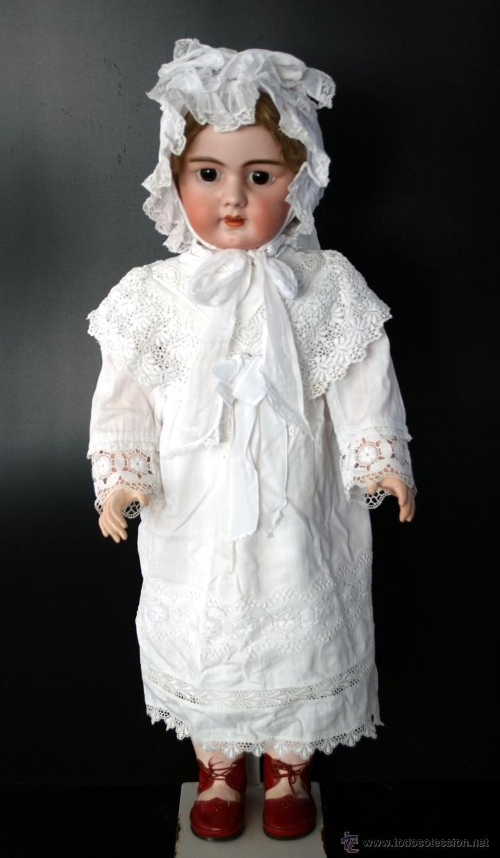 Muñecas Porcelana: GRAN MUÑECA DE PORCELANA - ANDADORA - DEP JUMEAU - Nº 14 - PP. S. XX - Foto 3 - 54490031