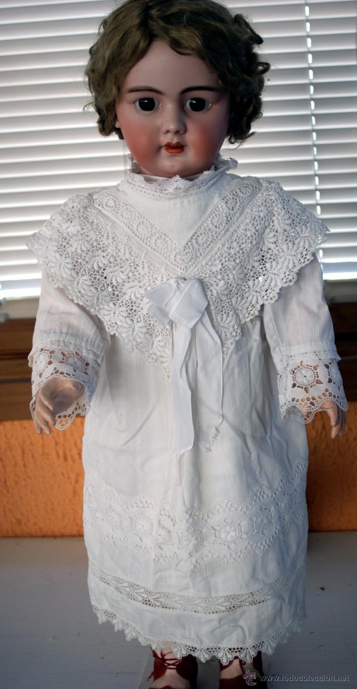 Muñecas Porcelana: GRAN MUÑECA DE PORCELANA - ANDADORA - DEP JUMEAU - Nº 14 - PP. S. XX - Foto 11 - 54490031