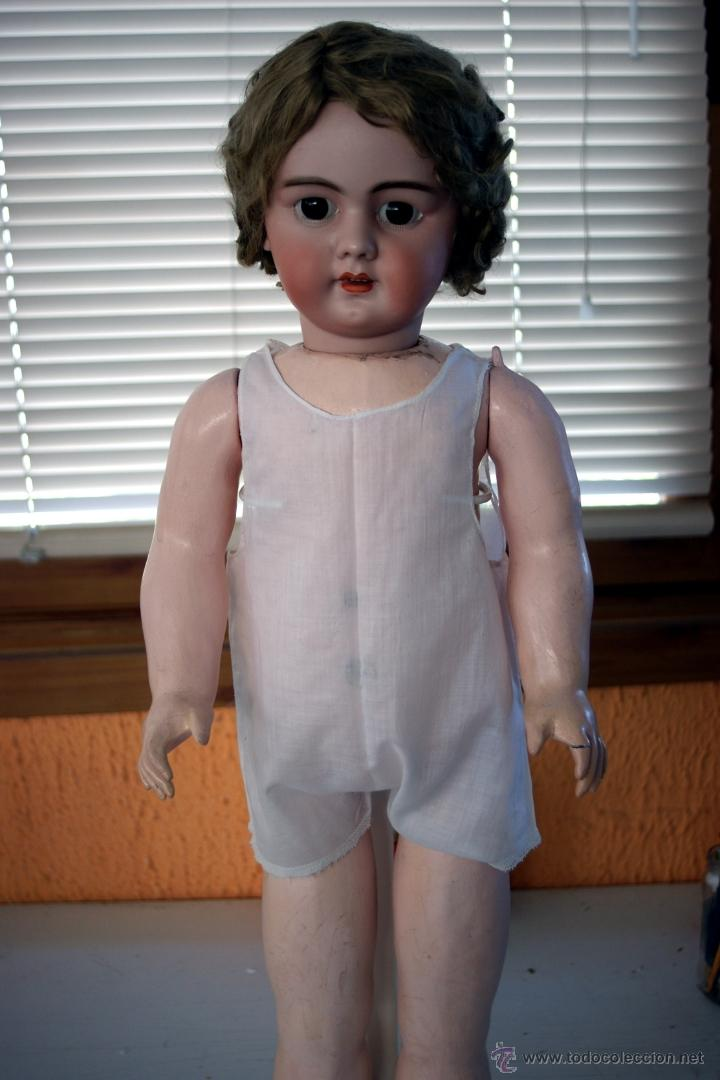 Muñecas Porcelana: GRAN MUÑECA DE PORCELANA - ANDADORA - DEP JUMEAU - Nº 14 - PP. S. XX - Foto 12 - 54490031