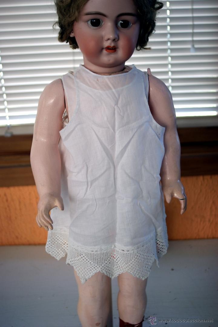 Muñecas Porcelana: GRAN MUÑECA DE PORCELANA - ANDADORA - DEP JUMEAU - Nº 14 - PP. S. XX - Foto 15 - 54490031