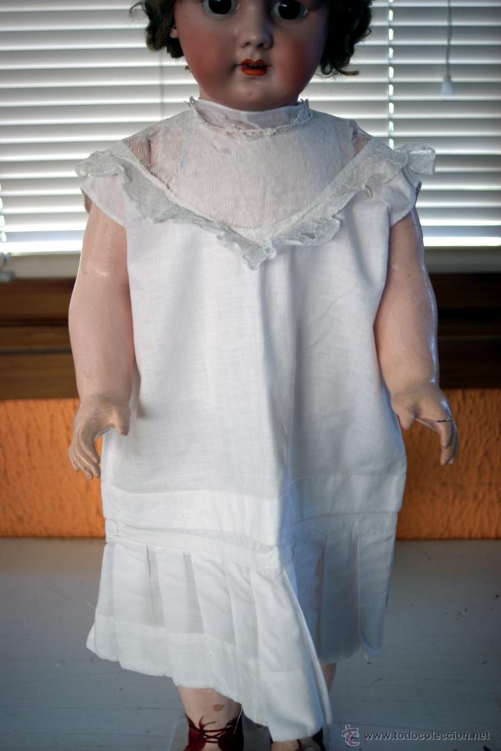 Muñecas Porcelana: GRAN MUÑECA DE PORCELANA - ANDADORA - DEP JUMEAU - Nº 14 - PP. S. XX - Foto 16 - 54490031