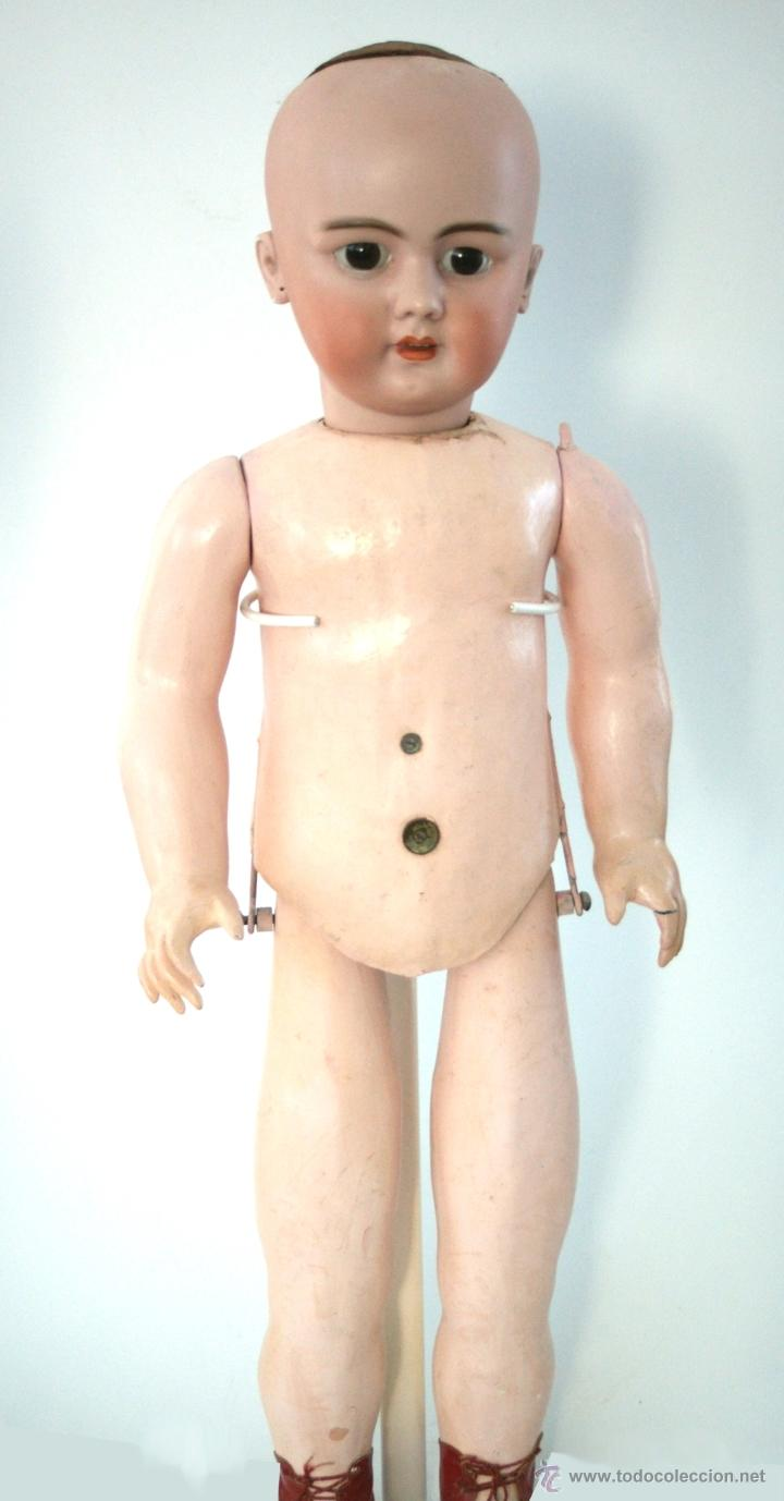 Muñecas Porcelana: GRAN MUÑECA DE PORCELANA - ANDADORA - DEP JUMEAU - Nº 14 - PP. S. XX - Foto 29 - 54490031