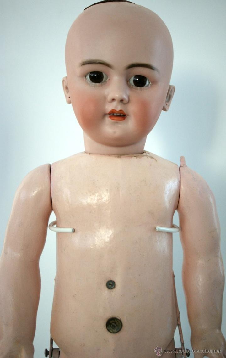 Muñecas Porcelana: GRAN MUÑECA DE PORCELANA - ANDADORA - DEP JUMEAU - Nº 14 - PP. S. XX - Foto 30 - 54490031