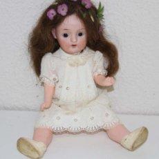 Muñecas Porcelana: MU005 LECONTE. PORCELANA Y COMPOSICIÓN. FRANCIA. PRINC. S. XX. Lote 49540225