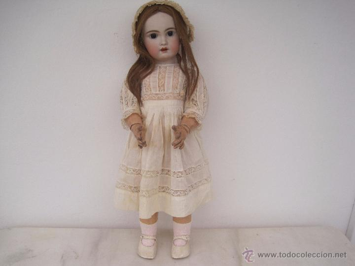 Muñecas Porcelana: MUÑECA FRANCESA DE PORCELANA JUMEAU, DIPLOME DHONNEUR. 60 CM. - Foto 3 - 54926369