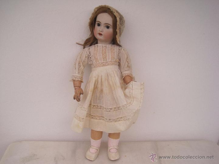 Muñecas Porcelana: MUÑECA FRANCESA DE PORCELANA JUMEAU, DIPLOME D'HONNEUR. 60 CM. - Foto 2 - 54926369