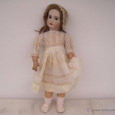 Muñecas Porcelana: MUÑECA JUMEAU ORIGINAL EN BISCUIT. MARCADA DIPLOME D'HONNEUR. 60 CM.( DESCUENTO ESPECIAL). Lote 54926369