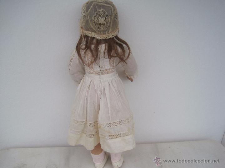 Muñecas Porcelana: MUÑECA FRANCESA DE PORCELANA JUMEAU, DIPLOME D'HONNEUR. 60 CM. - Foto 4 - 54926369