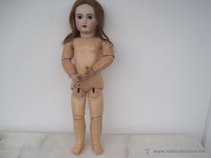 Muñecas Porcelana: MUÑECA FRANCESA DE PORCELANA JUMEAU, DIPLOME D'HONNEUR. 60 CM. - Foto 8 - 54926369