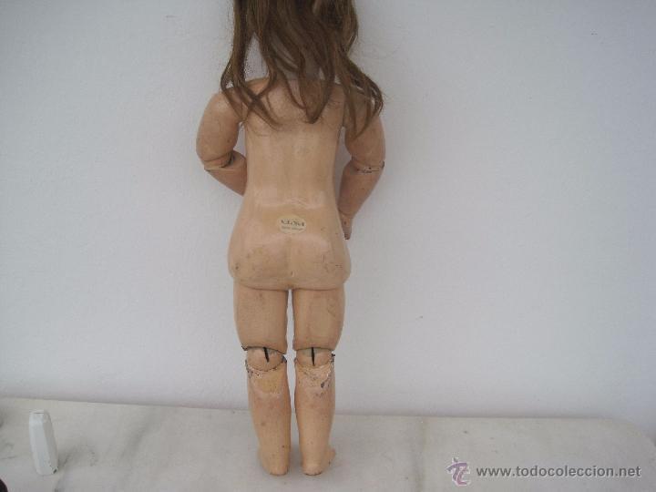 Muñecas Porcelana: MUÑECA FRANCESA DE PORCELANA JUMEAU, DIPLOME D'HONNEUR. 60 CM. - Foto 9 - 54926369
