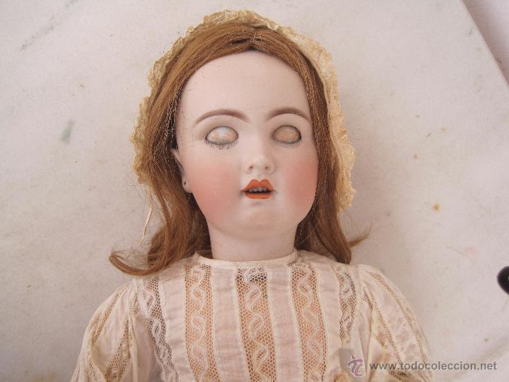 Muñecas Porcelana: MUÑECA FRANCESA DE PORCELANA JUMEAU, DIPLOME D'HONNEUR. 60 CM. - Foto 10 - 54926369