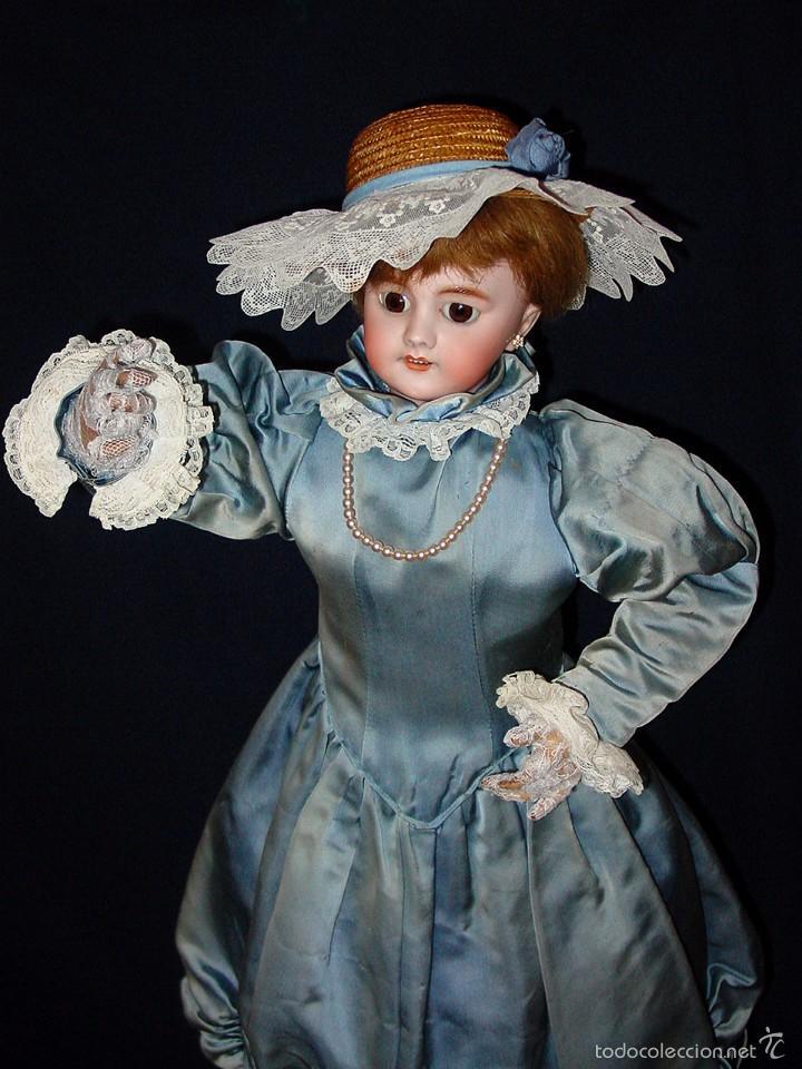 Muñecas Porcelana: FRANCIA SIGLO XIX. MUÑECA AUTÓMATA. POSIBLEMENTE ROULLET-DECAMPS-RENOU-JUMEAU-HALBIG-LAMBERT… - Foto 2 - 57269381