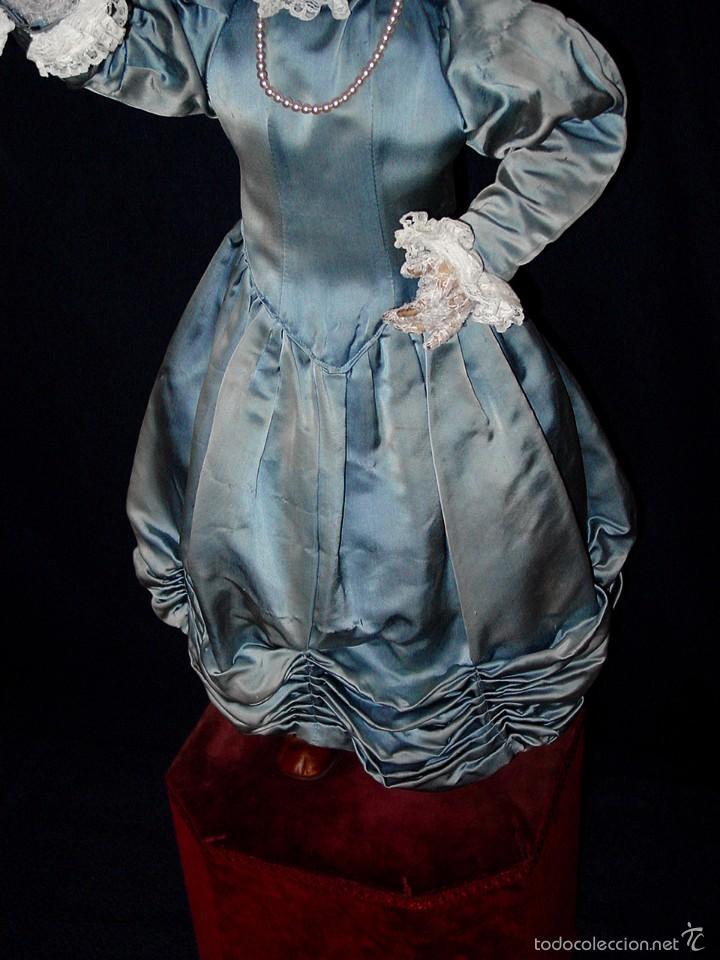 Muñecas Porcelana: FRANCIA SIGLO XIX. MUÑECA AUTÓMATA. POSIBLEMENTE ROULLET-DECAMPS-RENOU-JUMEAU-HALBIG-LAMBERT… - Foto 3 - 57269381