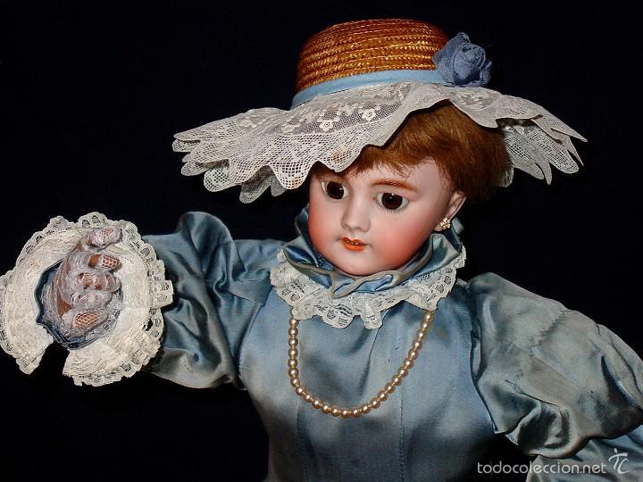 Muñecas Porcelana: FRANCIA SIGLO XIX. MUÑECA AUTÓMATA. POSIBLEMENTE ROULLET-DECAMPS-RENOU-JUMEAU-HALBIG-LAMBERT… - Foto 5 - 57269381