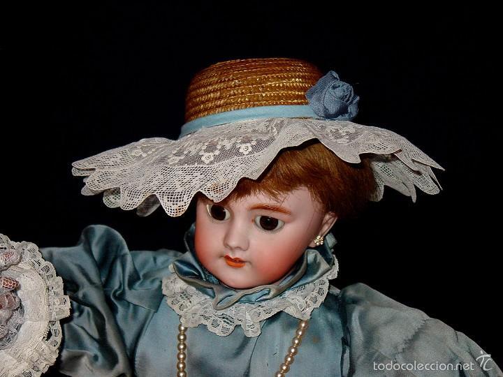 Muñecas Porcelana: FRANCIA SIGLO XIX. MUÑECA AUTÓMATA. POSIBLEMENTE ROULLET-DECAMPS-RENOU-JUMEAU-HALBIG-LAMBERT… - Foto 6 - 57269381