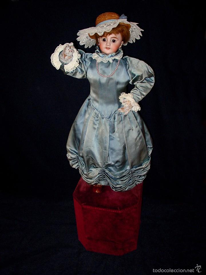 Muñecas Porcelana: FRANCIA SIGLO XIX. MUÑECA AUTÓMATA. POSIBLEMENTE ROULLET-DECAMPS-RENOU-JUMEAU-HALBIG-LAMBERT… - Foto 8 - 57269381