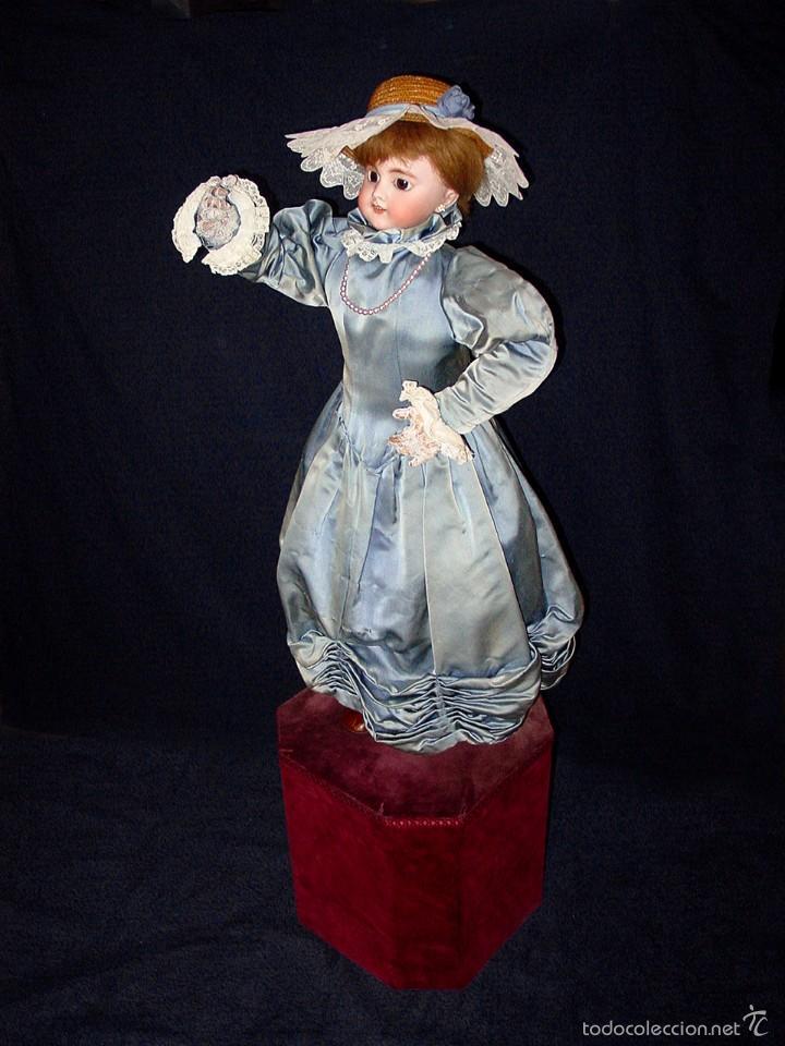 Muñecas Porcelana: FRANCIA SIGLO XIX. MUÑECA AUTÓMATA. POSIBLEMENTE ROULLET-DECAMPS-RENOU-JUMEAU-HALBIG-LAMBERT… - Foto 9 - 57269381