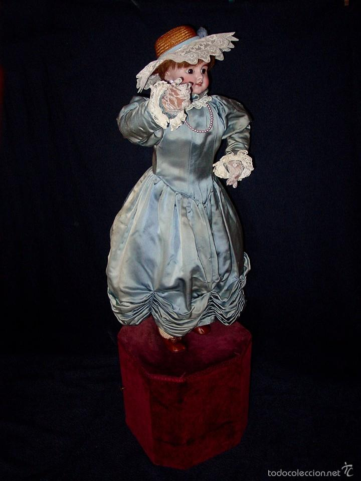 Muñecas Porcelana: FRANCIA SIGLO XIX. MUÑECA AUTÓMATA. POSIBLEMENTE ROULLET-DECAMPS-RENOU-JUMEAU-HALBIG-LAMBERT… - Foto 19 - 57269381
