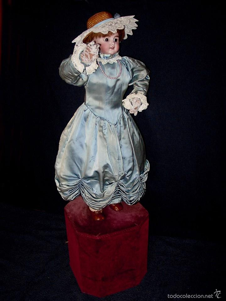 Muñecas Porcelana: FRANCIA SIGLO XIX. MUÑECA AUTÓMATA. POSIBLEMENTE ROULLET-DECAMPS-RENOU-JUMEAU-HALBIG-LAMBERT… - Foto 20 - 57269381