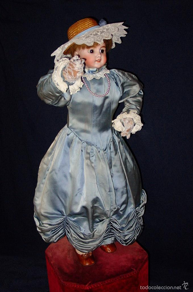 Muñecas Porcelana: FRANCIA SIGLO XIX. MUÑECA AUTÓMATA. POSIBLEMENTE ROULLET-DECAMPS-RENOU-JUMEAU-HALBIG-LAMBERT… - Foto 21 - 57269381