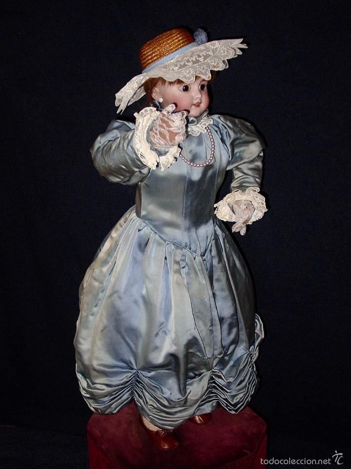 Muñecas Porcelana: FRANCIA SIGLO XIX. MUÑECA AUTÓMATA. POSIBLEMENTE ROULLET-DECAMPS-RENOU-JUMEAU-HALBIG-LAMBERT… - Foto 22 - 57269381