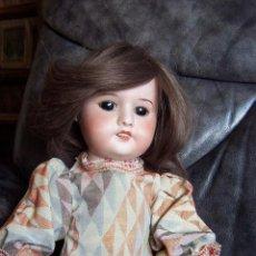 Muñecas Porcelana: MUÑECA FRANCESA SFBJ, CO DE LA CASA JOUMEAO. PARÍS. 1910. ALTURA: 43 CM.. Lote 54572699