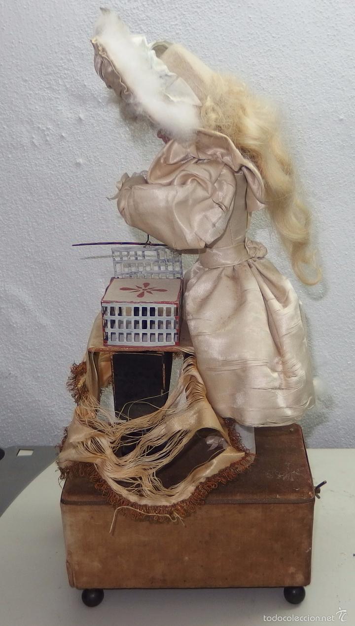 Muñecas Porcelana: AUTÓMATA DE L.MARIE RENOU,CABEZA BEBE MASCOTTE,FRANCE,FUNCIONANDO,FABRICADO EN 1890 - Foto 17 - 61099767