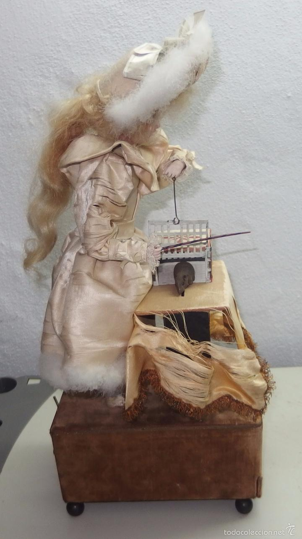 Muñecas Porcelana: AUTÓMATA DE L.MARIE RENOU,CABEZA BEBE MASCOTTE,FRANCE,FUNCIONANDO,FABRICADO EN 1890 - Foto 18 - 61099767