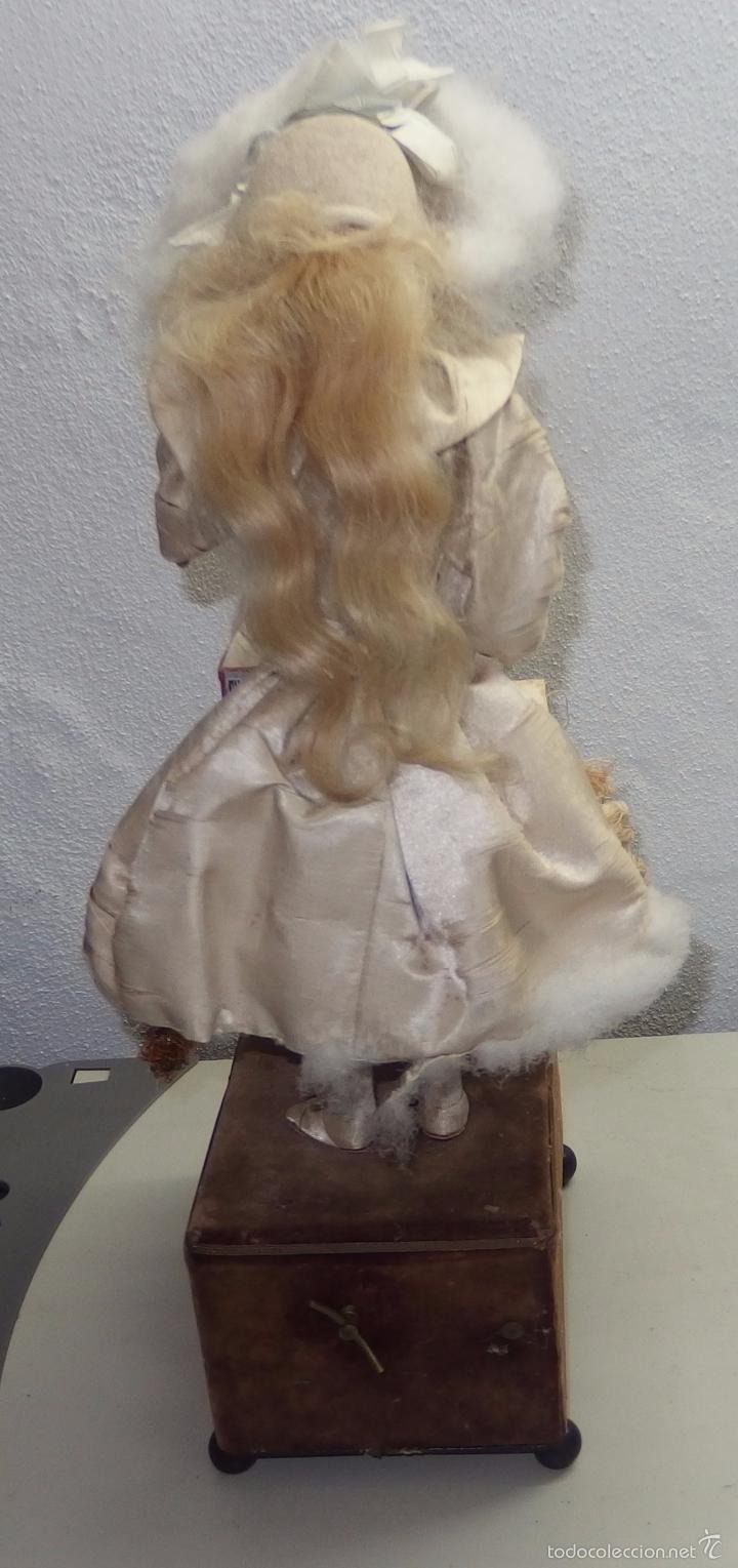 Muñecas Porcelana: AUTÓMATA DE L.MARIE RENOU,CABEZA BEBE MASCOTTE,FRANCE,FUNCIONANDO,FABRICADO EN 1890 - Foto 19 - 61099767