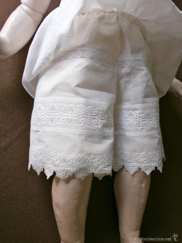 Muñecas Porcelana: Muñeca porcelana R. 4. D. RABERY & DELPHIEU 1890, de 72 ctms.Y BOCA CERRADA - Foto 7 - 61300947