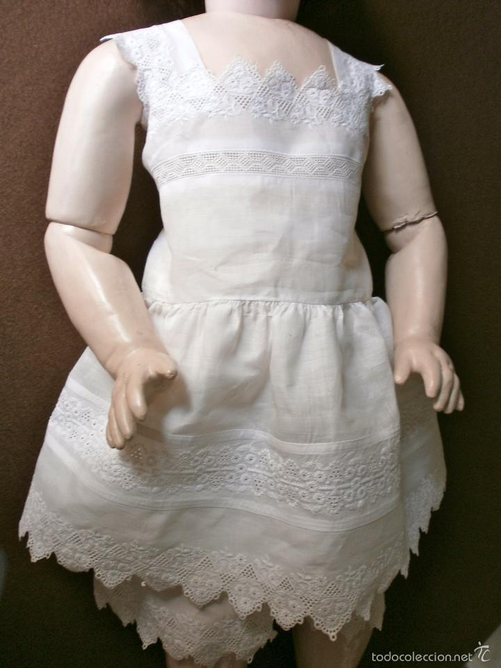 Muñecas Porcelana: Muñeca porcelana R. 4. D. RABERY & DELPHIEU 1890, de 72 ctms.Y BOCA CERRADA - Foto 14 - 61300947