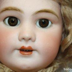 Muñecas Porcelana: MU133 MUÑECA JUMEAU. BOCA ABIERTA. CUERPO MADERA. 60 CM. PRINCIPIOS SIGLO XX. Lote 45149921
