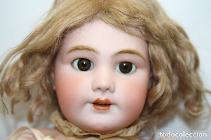 Muñecas Porcelana: MU133 MUÑECA JUMEAU. BOCA ABIERTA. CUERPO MADERA. 60 CM. PRINCIPIOS SIGLO XX - Foto 2 - 45149921