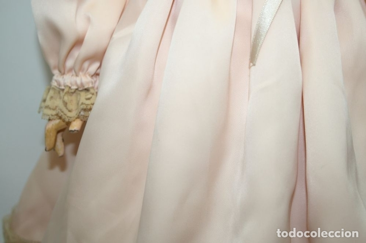 Muñecas Porcelana: MU133 MUÑECA JUMEAU. BOCA ABIERTA. CUERPO MADERA. 60 CM. PRINCIPIOS SIGLO XX - Foto 14 - 45149921